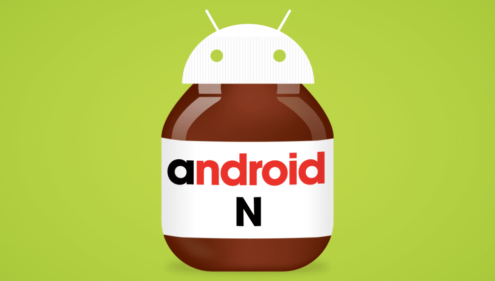 Android N Nutella