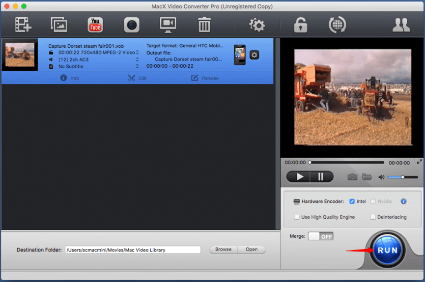 Compress Video without getting error