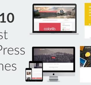 Top 10 Best WordPress Themes