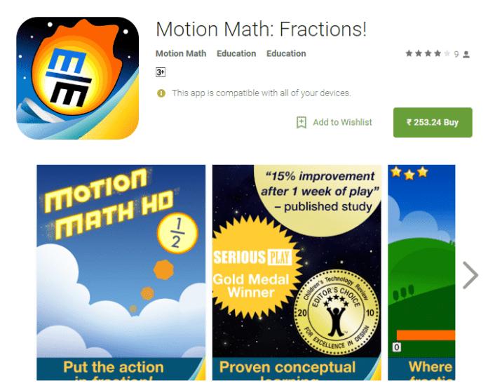 Motion Math Zoom