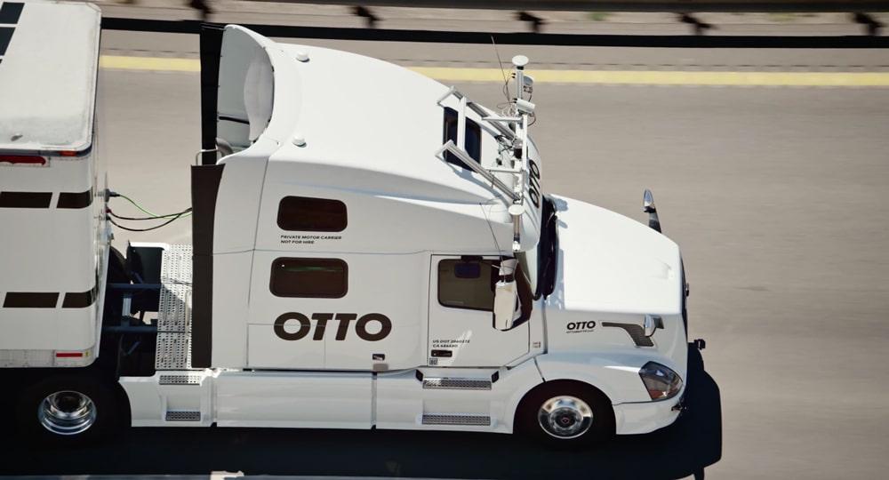 Otto Self Driving Trucks