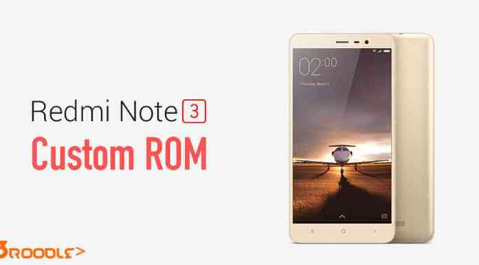 Custom Rom for Xiaomi Redmi Note 3