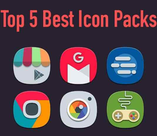 Top 5 Best Free Icon Packs for Android