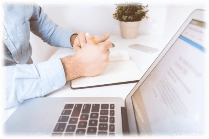 Blogging Macbook Copy Pen