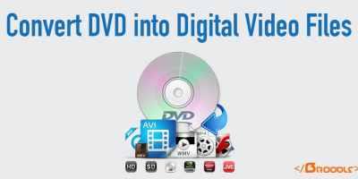 Convert DVD into Digital Video Files