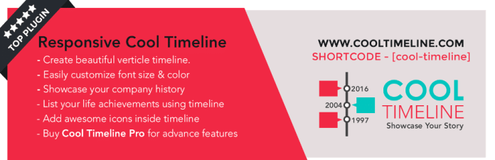 Cool Timeline Plugin for WordPress