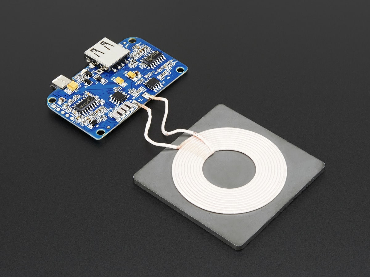 Universal Qi Wireless Charger Inside Structure