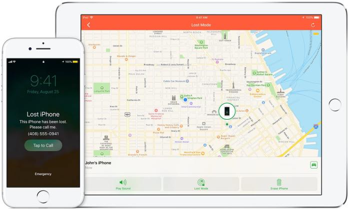 Find My iPhone for Tracking iPhone Location