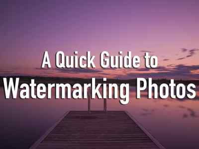 Guide to Watermark Photos