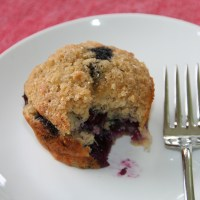 Banana-Blueberry Cornmeal Muffins