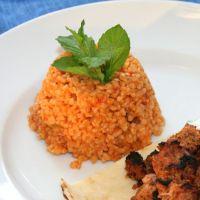 Turkish Bulgur & Vegetable Pilaf