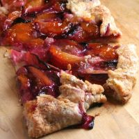 Jacques Pepin's Plum Galette