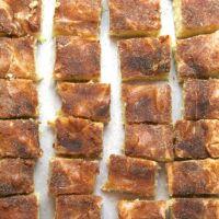 Gooey Cinnamon Squares