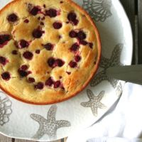 Raspberry-Ricotta Cake