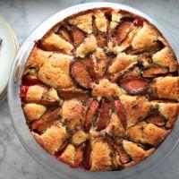 Selma's Plum & Cinnamon Cake