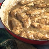 Jacques Pepin's Chicken in Mustard Sauce