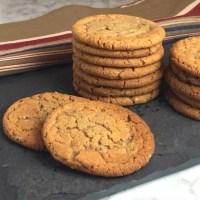 Speculoos-Toffee Cookies
