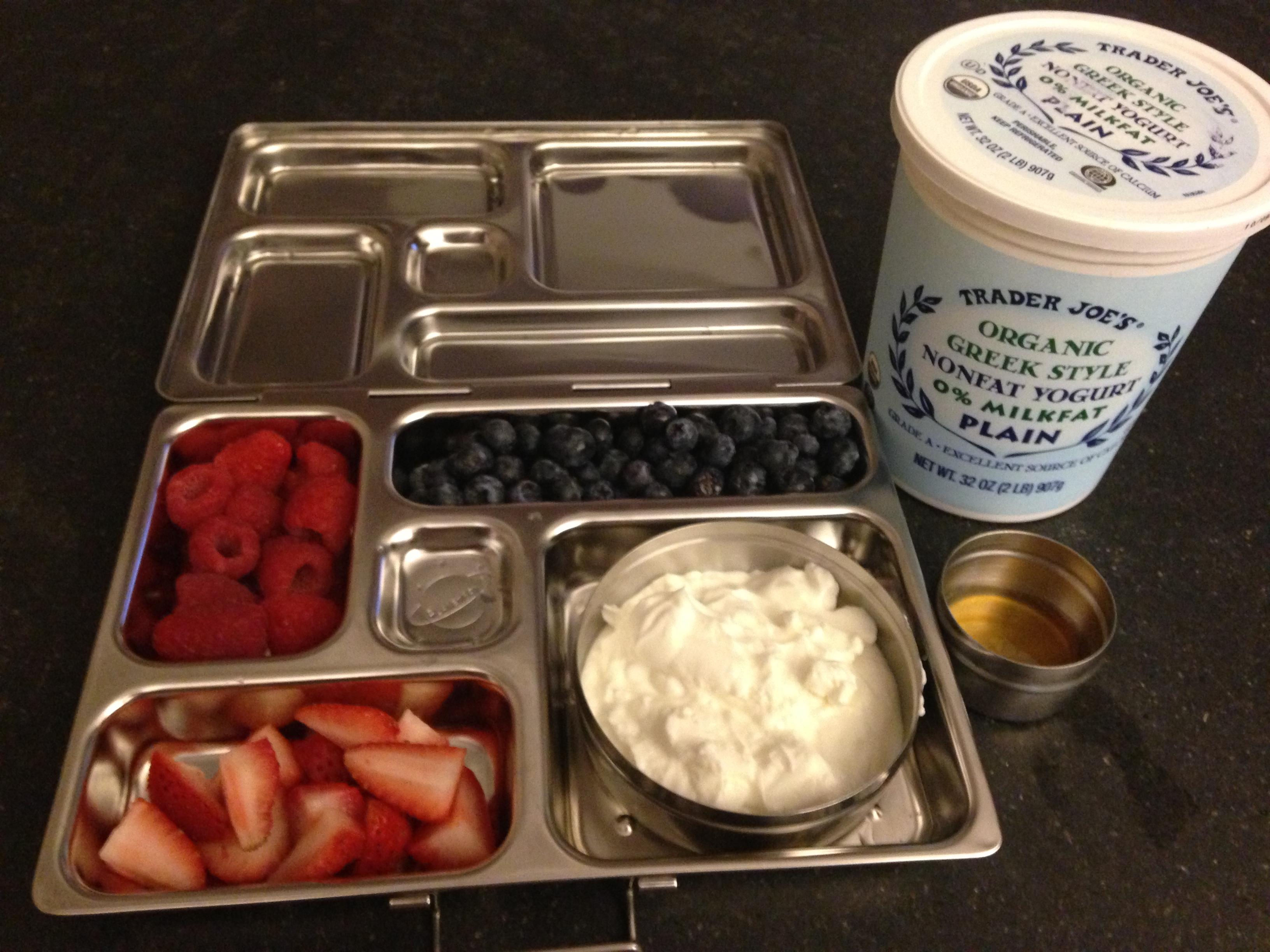Do it yourself yogurt parfait