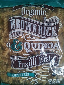 Trader Joe's Brown Rice Quinoa pasta alternative