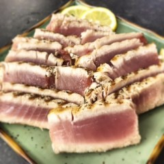 Simple Grilled Ahi Tuna Steaks
