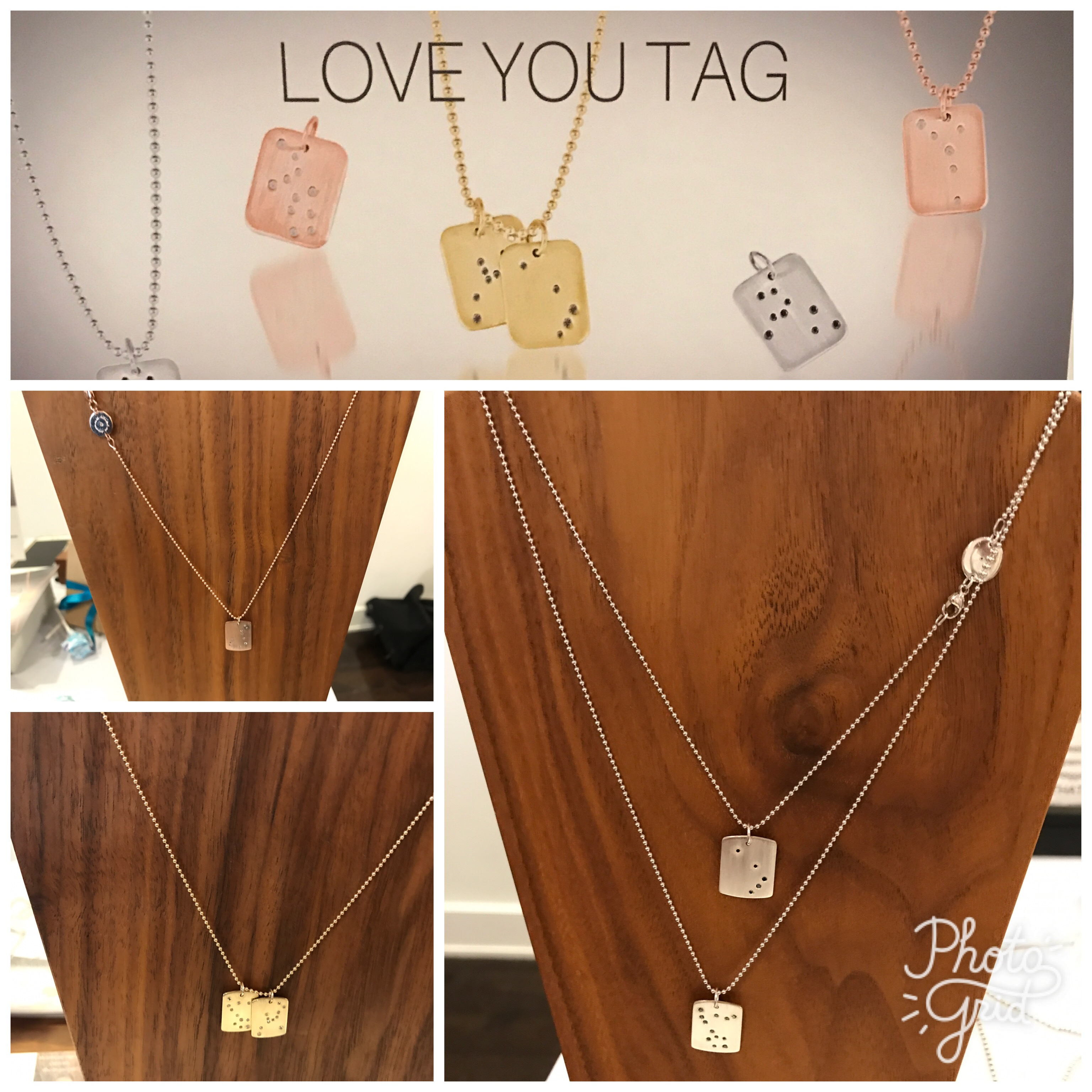 Love you Tag from Eatmetal at The Biggest Baby Shower