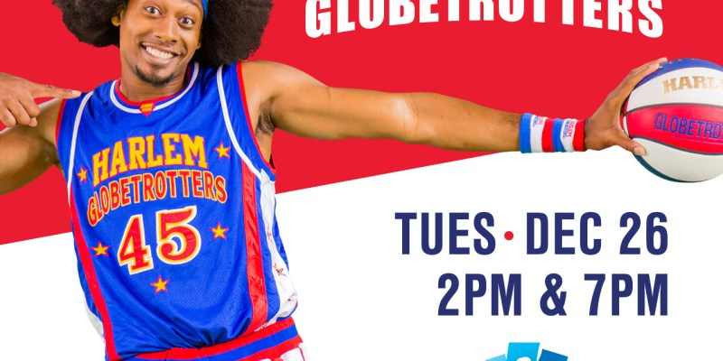 The Harlem Globetrotters are Coming to the Barclay Center!  A Discount Code and 4 Ticket Giveaway!