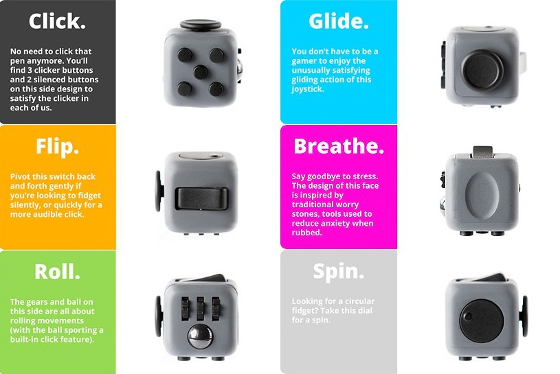 Fidget Cube A Simple Toy To Satisfy Your Fidgeting TheBroTalk