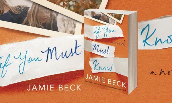 Author Spotlight: Jamie Beck, Excerpt from If You Must Know and Giveaway
