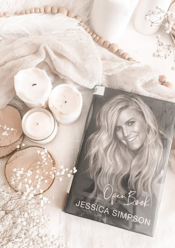 Open Book by Jessica Simpson / candid and genuine