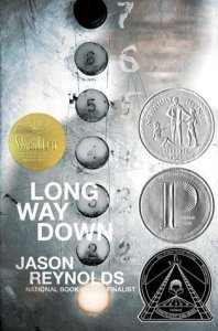 Long Way Down by Jason Reynolds, Read BIPOC Books 2020