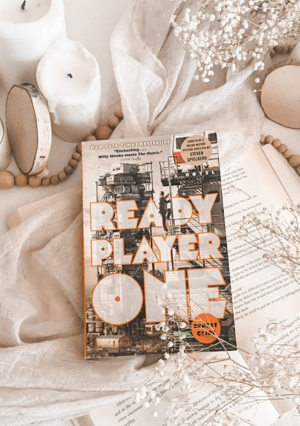 Ready Player One by Ernest Cline / perfect for anyone growing up in the 80s
