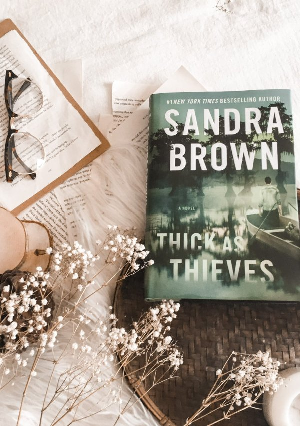 BOOK REVIEW: Thick as Thieves by Sandra Brown / an atmospheric romantic suspense