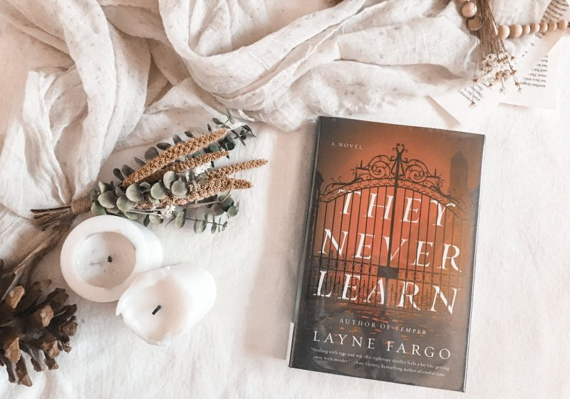 AUDIOBOOK REVIEW: They Never Learn by Layne Fargo
