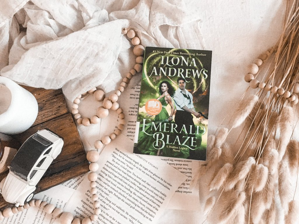 BOOK REVIEW Emerald Blaze by Ilona Andrews