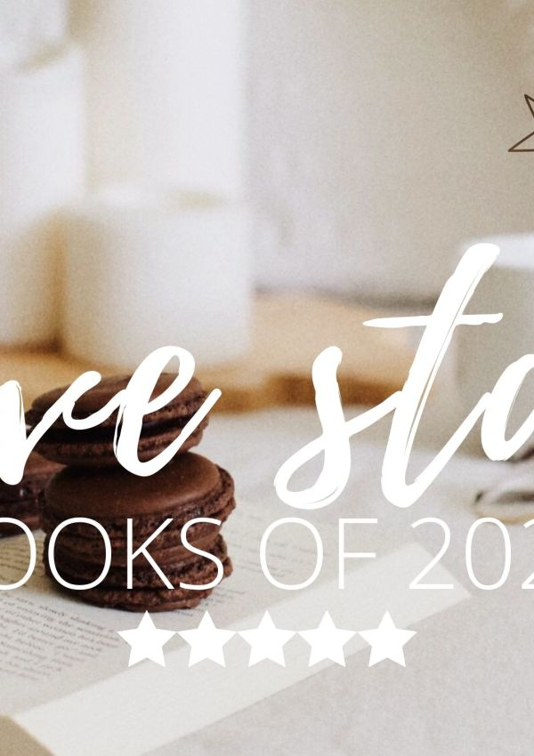 FIVE STAR BOOKS OF 2021 – MY MOST FAVORITE OF ALL