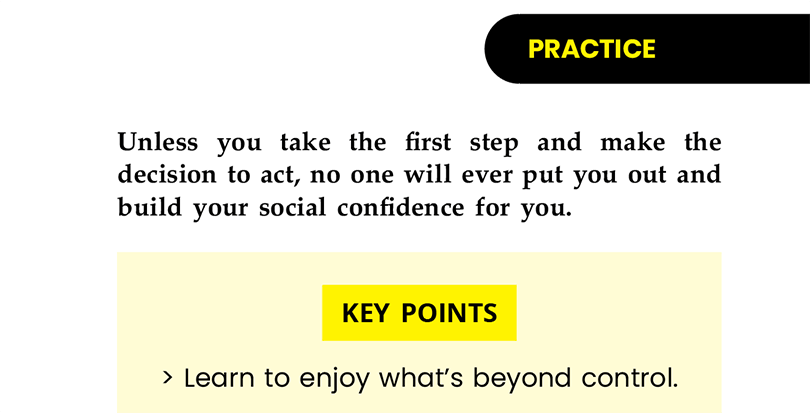 The Antidote to Shyness - Practice