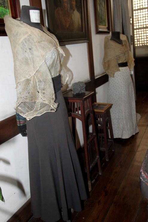 The dresses worn by Segunda Solis Katigbak.