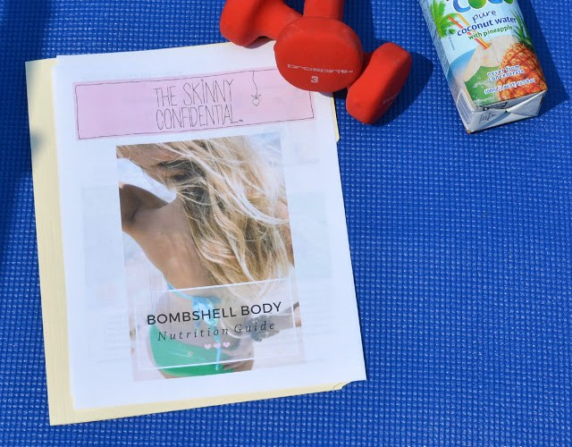 Getting My Fitness & Nutrition Groove On With The Skinny Confidential's Bombshell Body Guide!