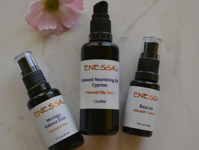 Saving Face With Enessa Organic Skincare Part 2!