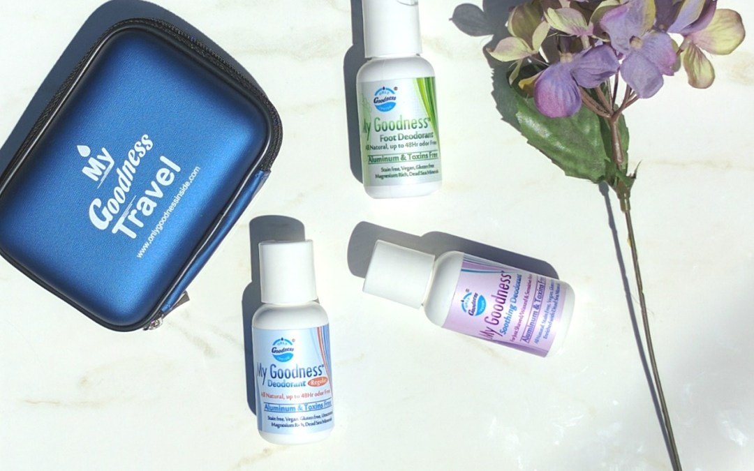 The Quest For The Most Effective Natural Deodorants Continues: My Goodness Deodorant Review