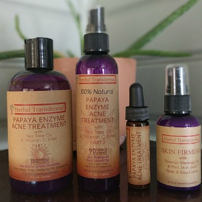 Herbal Transdermal's 3-Step Acne System & Firming Lotion Review