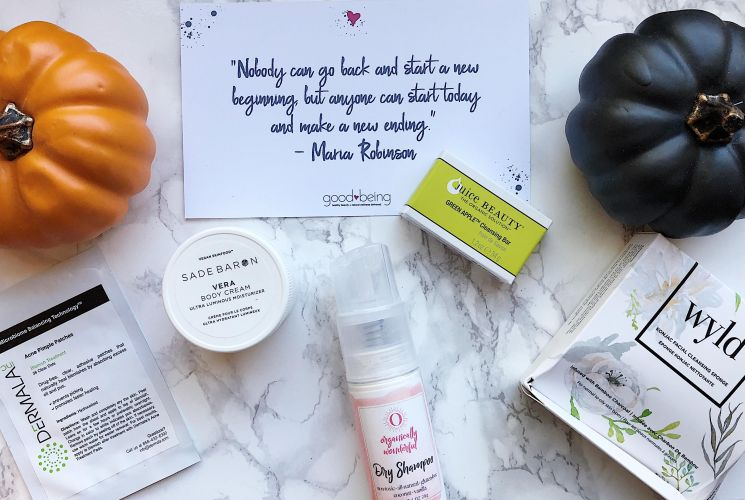October Goodbeing Box Review