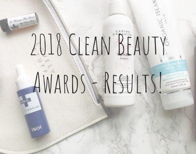 2018 Clean Beauty Awards Finalists!