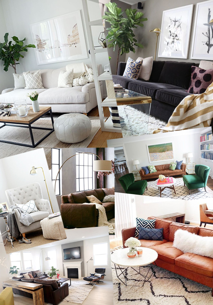 Living room inspiration with havenly the brunette one for Living room inspo