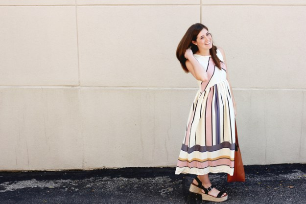 The-Brunette-One_Romwe_Midi-Dress_1