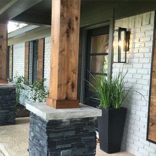 Staining Cedar Columns