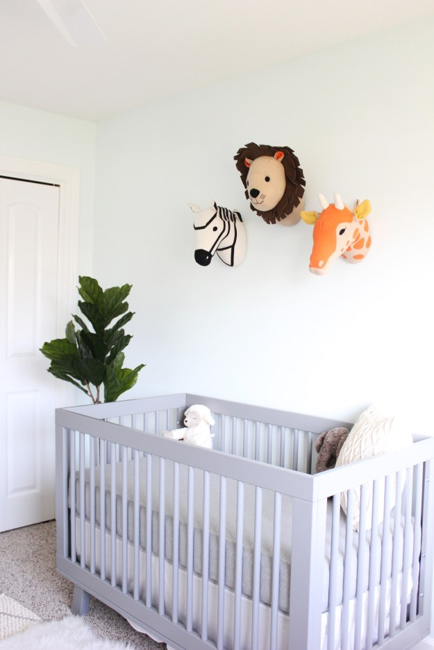 The Brunette One Gender Neutral Nursery Reveal