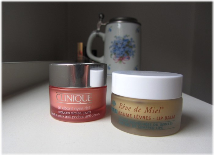 Clinique AAE Rich & Nuxe Reve de Miel