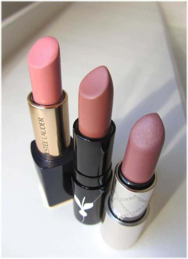 Favourite nude lipsticks comparison 2