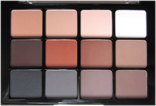 Viseart Neutral Matte eyeshadow palette 3